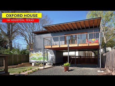 Oxford Container House by Shane Cook Designs- Houston, Texas