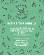 Bike Lane Uprising 1 Year Anniversary Party!