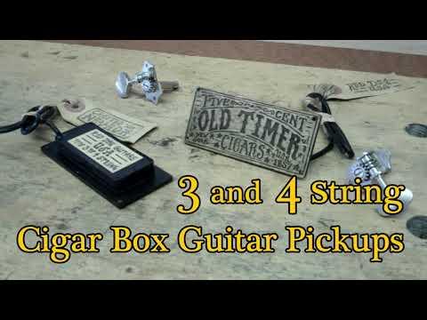 - Cigar Box Guitar Pickups - the Secret to 1930's Blues tone