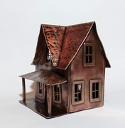 Tiny copper house