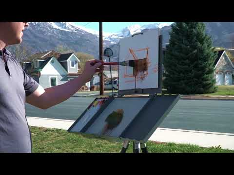 Bryan Mark Taylor Painting Demonstration