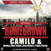 Homegrown DJ Camilo Live at Studio Square