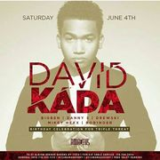 DJ Triple Threat Birthday Bash David Kada Live At Amadeus Nightclub
