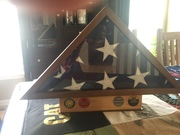 Case with flag