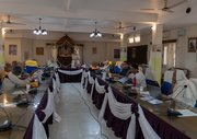 The GBC meetings have begun in Mayapur