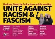 Hackney Stand up to Racism public meeting