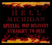 Hell Michigan Artistamp