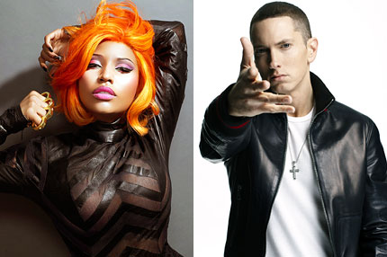 Nicki Minaj & Eminem Dating? She Says They're In A Relationship Fans Going Crazy!!