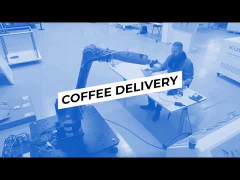 KUKA Robot Coffee Delivery