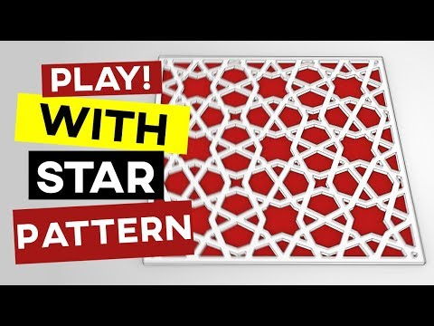 Islamic Geometric Pattern (Grasshopper Tutorial)