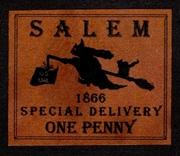 Salem, Mass Specal Delivery Aritstamp