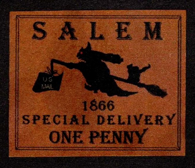 Salem, Mass Specal Delivery Aritstamp