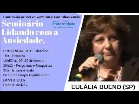 ÁUDIO - Seminário Lidando com a Ansiedade com perguntas, Eulália Bueno SP, 10/02/19
