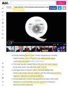 AOL Qanon Article March 5th,2019 - Bullet Points