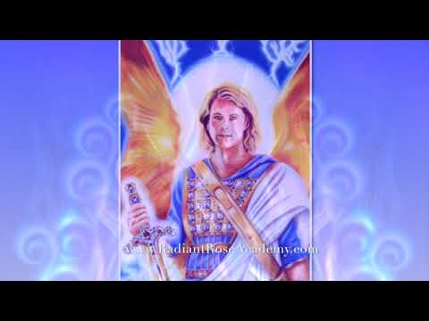 Archangel Michael's gift: Strengthening your protection, the Ring Pass Not of Cosmic Blue Flames