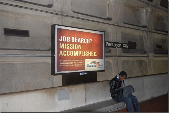 DC Metro System Billboard