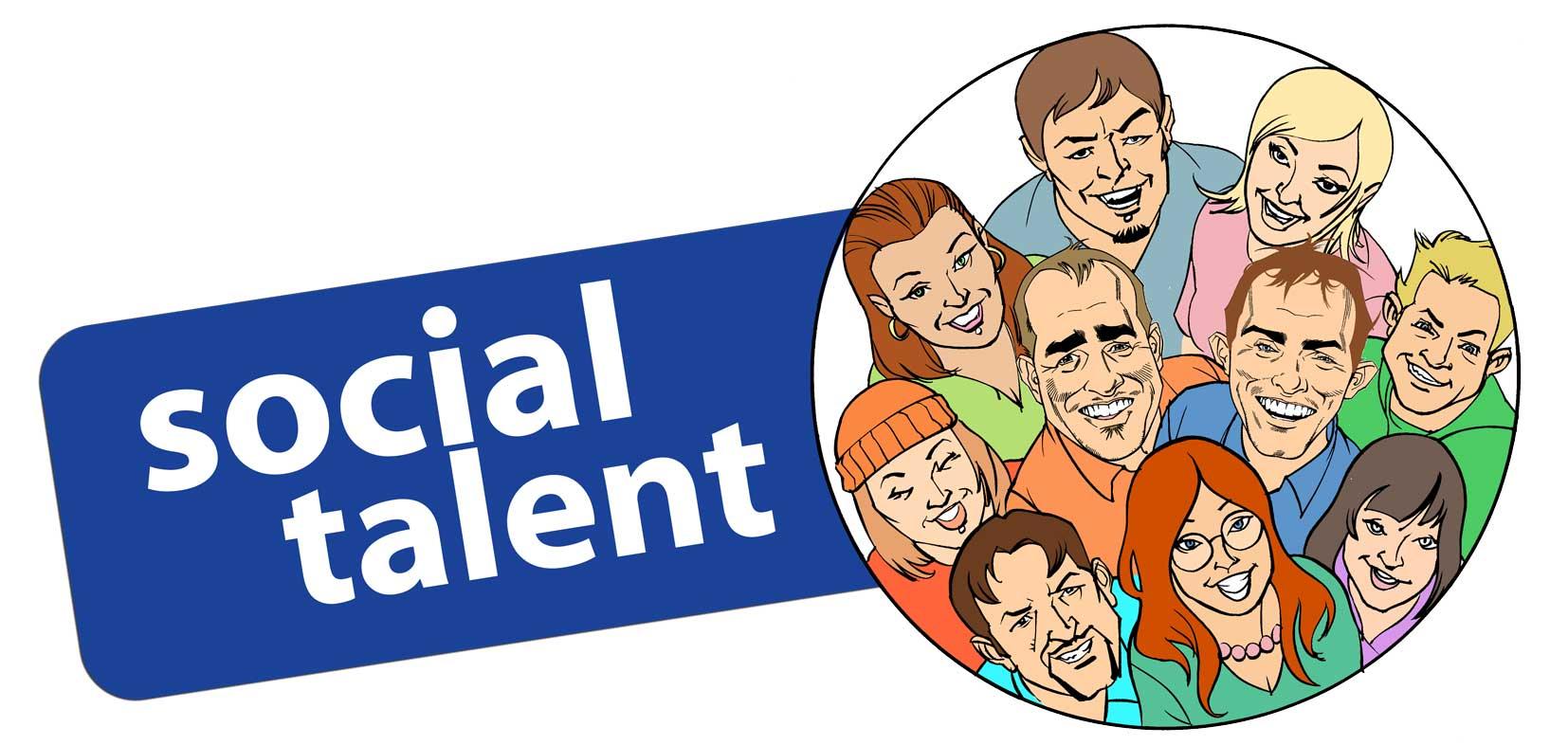 Social Talent Logo