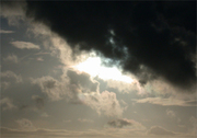 Black Clouds with Light