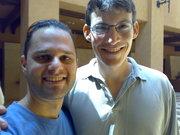 Eyal and Elad in Jordan