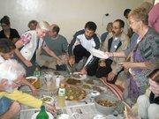 Lunch in Bil'in