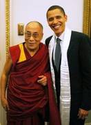 His Holiness the Dalai Lama and Barack Obama