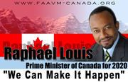 Raphael Louis Prime Minister of Canada for 2020