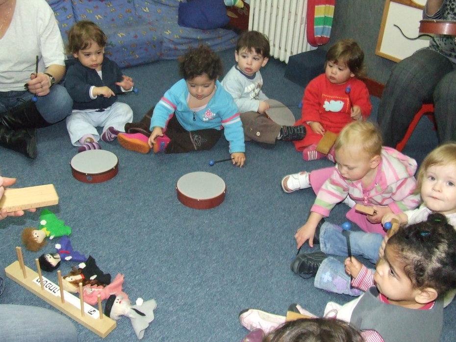 Kids at the Peace Preschool!