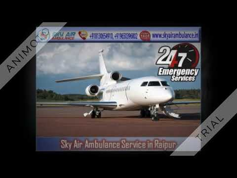 Use Air Ambulance Services in Ranchi with the Panel of MD Doctor