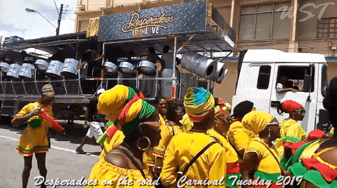 Desperadoes Steel Orchestra  - Carnival Tuesday 2019