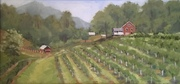 """Fresh Air"" Oil paintings by Sue Dolamore at the Asheville Gallery of Art"