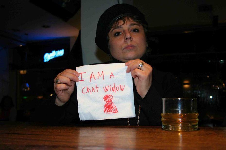 I am a chat widow
