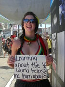 Learning about the world helps me learn about myself