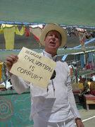 Because civilization is corrupt