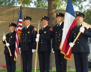 LFD Honor Guard Standing proud