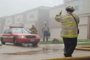 4 Alarm Town Home fire