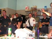 Retirement party @ FDNY Haz-Mat 1 Qtrs.