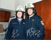 Dallas Stars Dave Surprenant & Marty Turco