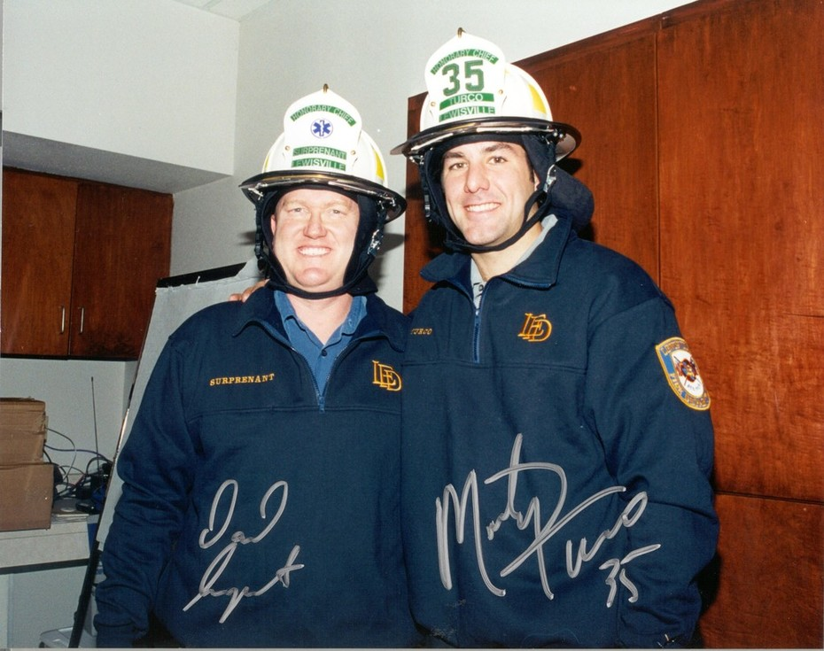 Dallas Stars Dave Surprenant & Marty Turco