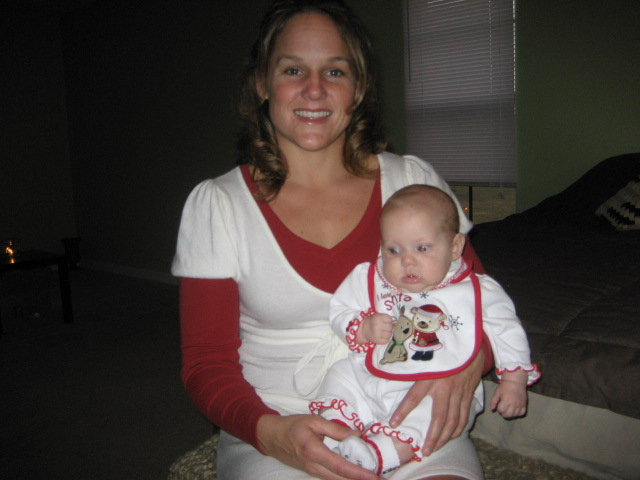 xmas 2007 w/ my niece
