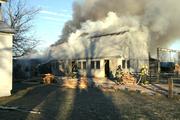 Eicher Sawmill Fire
