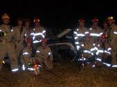Night time vehicle extracation training