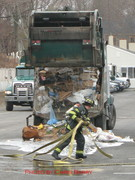 Hingham Trash Truck 1 April 2008