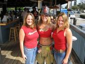 Wendy, Casey, and I @ FF appreciation day, Hooters