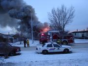 Jan 10 Trailer Fire