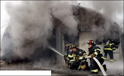 Working Fire Lunenburg MA