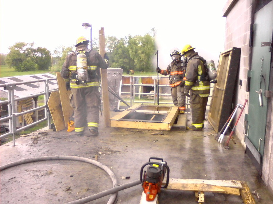 Flat roof saw OPS