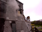 Live Fire at the NY State Fire Academy