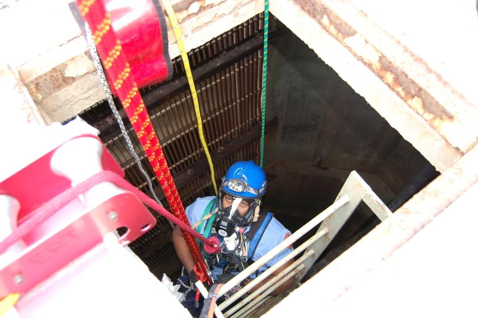 Rwa Water Intake CS Rescue Entry