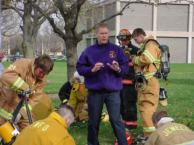 Instructing @NATA Fireschool