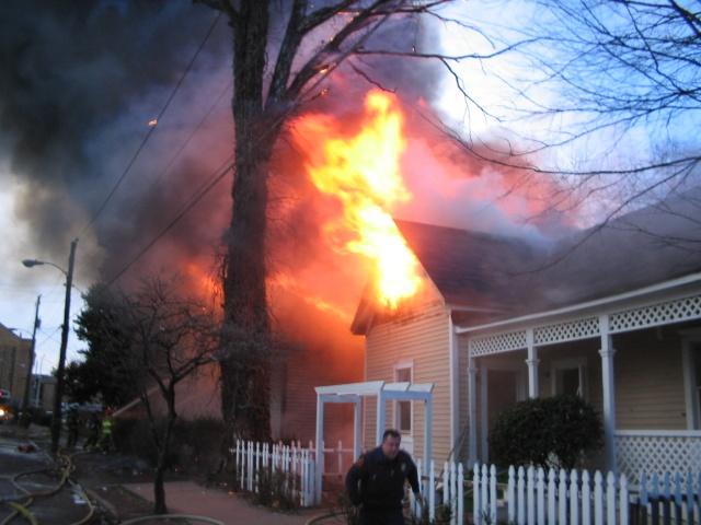 Atlanta House Fire